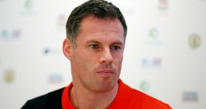 The Jamie Carragher Soccer School was held at Dromard GAA last August. Photograph: Getty.