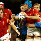 Wales's Justin Tipuric can read space and attack it like few forwards in the game. Photograph: Stu Forster/Getty Images