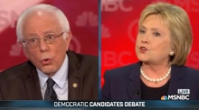Clinton calls Sanders attack on Wall Street ties 'artful smear'