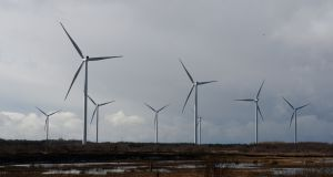 An Bord Pleanála has refused permission for a huge wind farm in north Meath. Photograph: Dara Mac Dónaill/The Irish Times
