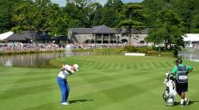Mikko Ilonen plays a shot at Fota Island during the 2014 Irish Open. The resort will host the Ireland team ahead of Euro 2016. Photograph: Getty