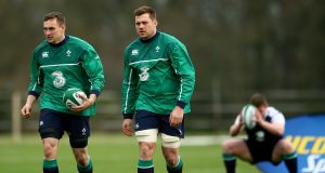 Munster duo Tommy O'Donnell and CJ Stander both start for Ireland against Wales on Sunday. Photograph: Inpho