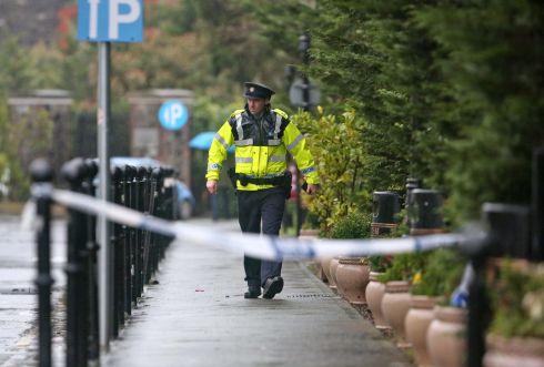 The scene of the shooting at the Regency Hotel on the Swords Road. Photograph: Colin Keegan/Collins Dublin