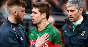 Mayo's defeat to Cork last weekend was overshadowed somewhat by the controversy regarding Lee Keegan's concussion at Páirc Uí Rinn. Photograph: James Crombie/Inpho
