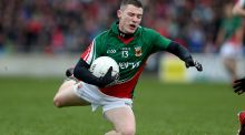 Mikey Sweeney replaces Lee Keegan in the Mayo side to meet Dublin in Castlebar on Saturday night. Photograph: Inpho