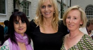 Marian Keyes, Miriam O ' Callaghan and Angela O'Neill De Guillo. Photograph: Richie Stokes