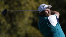 Shane Lowry tees off during the second round of the Waste Management Phoenix Open at TPC Scottsdale on February 5, 2016 Photograph: Christian Petersen/Getty Images