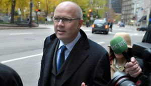 Former Anglo Irish Bank CEO David Drumm in Boston: extradition would involve gardaí going to the US to take custody of him from the authorities there. Photograph: Josh Reynolds
