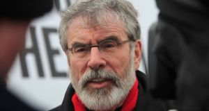 Gerry Adams: gave warning that ceasefire was not going to last. Photograph: Gareth Chaney/Collins
