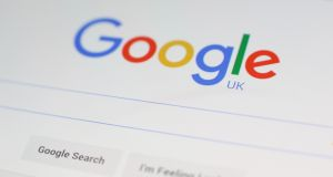 Figures show that the average employee of Google in the UK is being paid twice as much as their colleagues across the Irish Sea. (Photograph: Yui Mok/PA Wire)