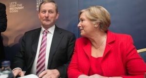 Taoiseach Enda Kenny and Minister for Justice Frances Fitzgerald. Photograph: Collins