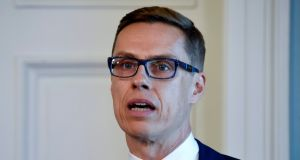 "Finnish finance minister Alexander Stubb: ""This spring will be make-or-break for the Finnish economy."""