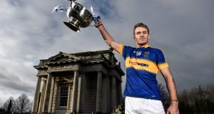 Noel McGrath at the launch of the 2016 Allianz Hurling League on Monday. Tipperary face Dublin in Thurles next Saturday. Photograph: Brendan Moran/SPORTSFILE
