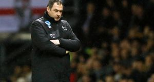 Paul Clement has been fired as manager of Derby County. Photograph: Reuters