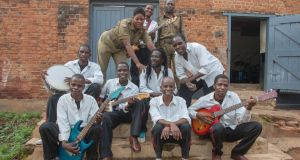 Members of Malawi's Zomba Prison Project band. Photograph: Amos Gumulira/AFP/Getty Images