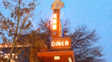 The US diner that is fit for a president