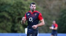 Number eight Josh Beaumont has been added to the England sqaud for the game against Italy in Rome on Sunday. Photograph:    David Rogers/Getty Images