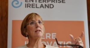 Enterprise Ireland chief Julie Sinnamon. The organisation says client companies are expected to create more jobs this year.