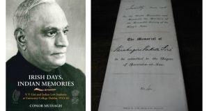 "VV Giri, who went on to become President of India (1969-1974), was taught by Thomas McDonagh and called to the bar in King's Inns in 1916, just before he was expelled from the United Kingdom for his links to leaders of the Rising. Giri wrote in his last letter to fellow president, Eamon de Valera: ""Irishmen and Indians always tell me that next to being an Indian I am an Irishman"""