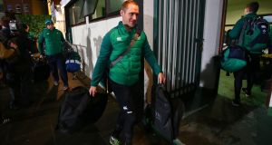 Ireland manager Nigel Carolan expects an improvement from his team against France. Photograph: Donall Farmer/Inpho