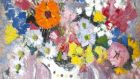 Anne Redpath's still life 'Flowers in a Spotted Jug', which fetched more than £85,000 at Bonhams' Scottish auction.