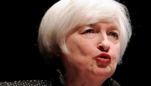 Federal Reserve chair Janet Yellen has warned of threats to US growth. Photograph: Jessica Hill/AP
