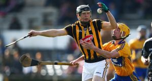 Walter Walsh in action against Clare. Walsh played in all of Kilkenny's league and championship games last year. Photograph: Cathal Noonan/Inpho