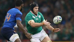 Flanker Seán O'Brien is expected to return to the Ireland team against France having recovered from a hamstring injury. Photograph: Billy Stickland/Inpho