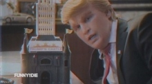 Johnny Depp takes on 'The Donald' in parody