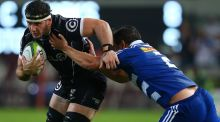 Ulster's new signing Marcell Coetzee in action for the Sharks. Photograph: Getty Images