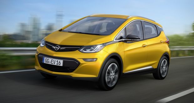 Opel Confirms Electric Future With Ampera E