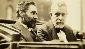 Rising time: Roger Casement and John Devoy feature in '1916'