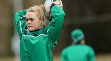 Railway Union's Cliodhna Moloney will start at hooker for Ireland in Saturday's Six Nations clash with France in Perpignan. Photograph:  Ryan Byrne/Inpho