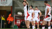 Outhalf Sam Windsor is expected to make his competitive debut for Ulster against Glasgow. Photograph; Matt Mackey/Inpho.