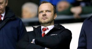 Manchester United executive vice chairman Ed Woodward. Photograph:  Carl Recine/Action Images via Reuters/Livepic