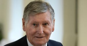 Michael Smurfit: reported to have been seen having dinner on Caribbean island.  Photograph: Dara Mac Dónaill
