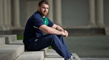 Seán O'Brien was suspended after Ireland's last match with France in the World Cup. Photograph: Morgan Treacy/Inpho