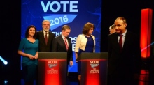 Leaders' debate: 'The man has some brass neck'