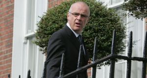 Former Anglo  chief executive David Drumm:  His lawyer asked to keep the matter open  as  Drumm hopes to be biometrically tested as part of his process to secure a US green card. Photograph: Alan Betson