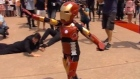 Iron Boy: superhero with cystic fibrosis saves Sydney
