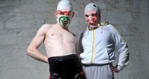 Rubberbandits: the pair say they are not comedians or entertainers but artists