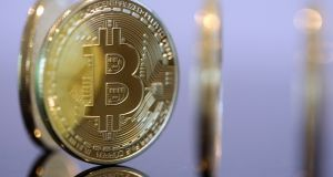The cryptocurrency known as bitcoin and the digital ledger upon which its transactions are recorded, the blockchain, are now being taken seriously by more than just e-pirates. Photograph: Chris Ratcliffe/Bloomberg
