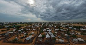 Displaced: part of Ifo, one of the five subcamps that make up Dadaab. Photograph: Tony Karumba/AFP/Getty