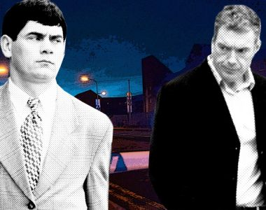 Old school: Gerry Hutch and Christy Kinahan