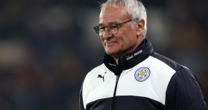 Leicester City manager Claudio Ranieri. Photograph: Richard Sellers/PA Wire.