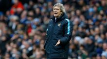 "Manchester City manager Manuel Pellegrini: ""It's not a decisive game but a very important game – after we play for another 36 points."" Photograph: Andrew Yates/Livepic"
