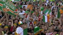 The full total of applicants from fans based in the Republic of Ireland was 70,480.Photographer: Dara MacDonaill
