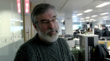 Gerry Adams: 'We're not listening to the nonsense'
