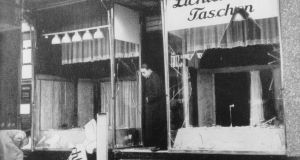 The riots destroyed Jewish properties in Germany. Photograph: Ullstein Bild/Getty