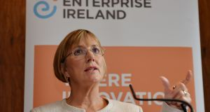 Julie Sinnamon of Enterprise Ireland: If the private sector invested more in start-ups, Enterprise Ireland could focus on  other aspects of enterprise development. Photograph: Alan Betson/The Irish Times